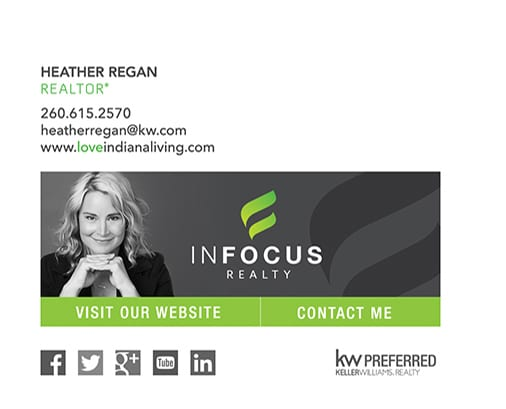 email signature for REALTOR Heather Regan