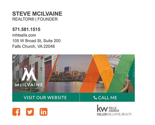 KW email signature design
