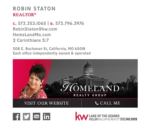 keller williams email signature
