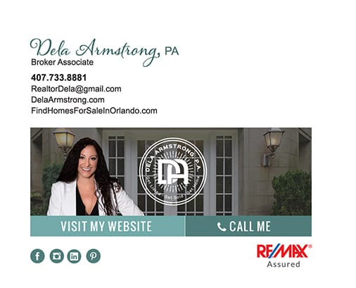 RE/MAX email signature for Broker