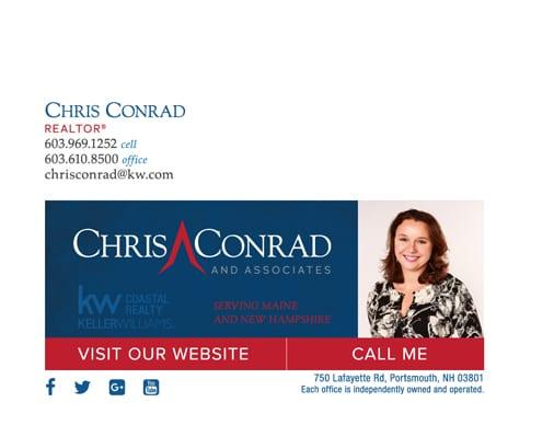 email signature for REALTOR Chris Conrad