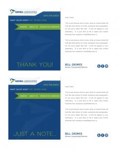 Email Stationery Sample: Bill Grimes