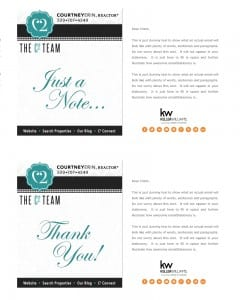 Email Stationery Sample: Courtney Erin