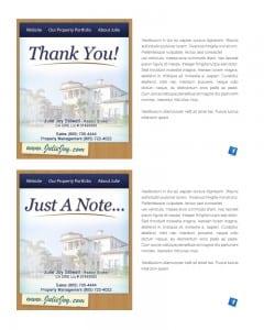 Email Stationery Sample: Julie Stillwell