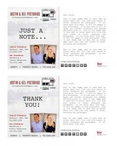 Email Stationery Sample: Justin Pistorius