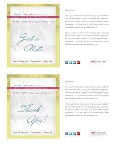 Email Stationery Sample: Maggie Sarubbi