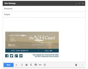 Email Stationery Sample: Martha Smith
