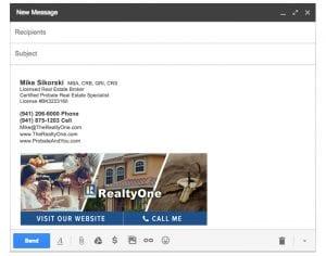 Email Stationery Sample: Mike Sikorski